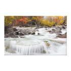 Wyoming, Sublette County, Pine Creek flowing Canvas Print
