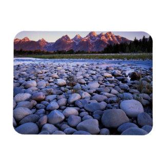 Wyoming, Teton National Park, Snake River Magnet