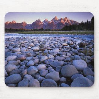 Wyoming, Teton National Park, Snake River Mouse Pad