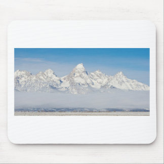 WYOMING TETONS WITH SNOW MOUSE PAD