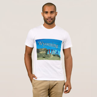 Wyoming USA Men's AA T-Shirt