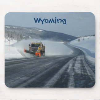 Wyoming Winter Mouse Pad