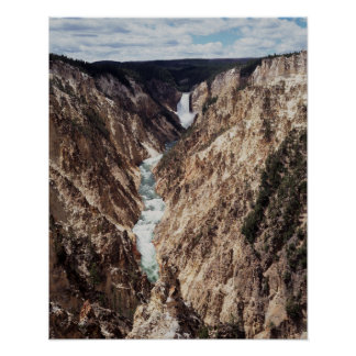 Wyoming, Yellowstone National Park, Lower Poster