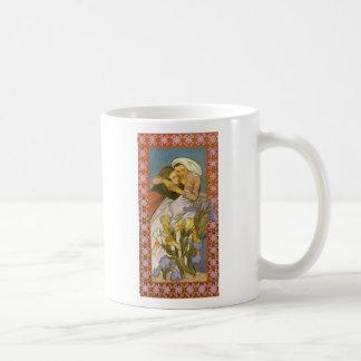 Wyspianski, Caritas (Love), 1904 Basic White Mug