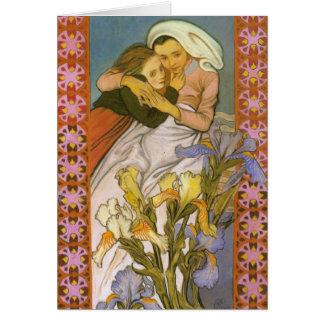 Wyspianski, Caritas (Love), 1904 Stationery Note Card