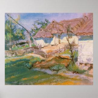 Wyspianski, Farm in Konary, 1900 (1) Poster