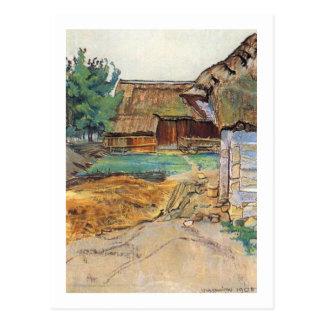 Wyspianski, Farm in Konary, 1905 Postcard