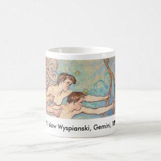 Wyspianski, Gemini, 1896 Coffee Mug