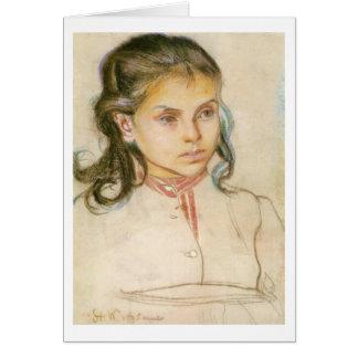 Wyspianski, Head of a Girl, 1895 (1) Cards