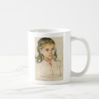 Wyspianski, Head of a Girl, 1895 (1) Mugs