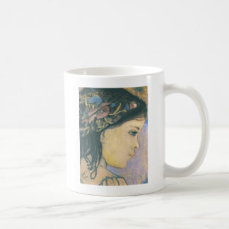 Wyspianski, Helenka - The Artist's Daughter, 1904 Classic White Coffee Mug