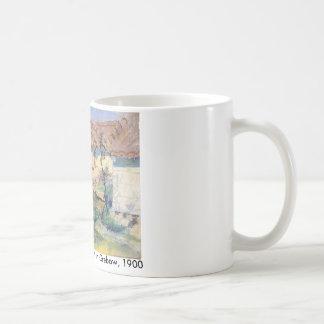 Wyspianski, Hut in Grebow, 1900 (1) Basic White Mug