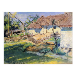 Wyspianski, Hut in Grebow, 1900 (1) Post Card