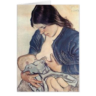 Wyspianski, Maternity, 1902 Card