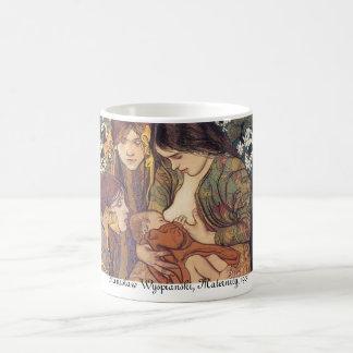Wyspianski, Maternity, 1905 Basic White Mug