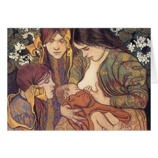 Wyspianski, Maternity, 1905 Note Card