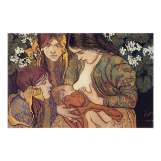 Wyspianski, Maternity, 1905 Posters