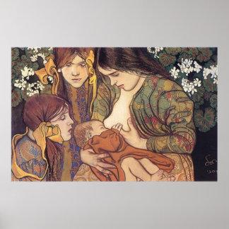 Wyspianski Maternity 1905 Posters