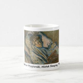 Wyspianski, Mietek Sleeping, 1902 Basic White Mug