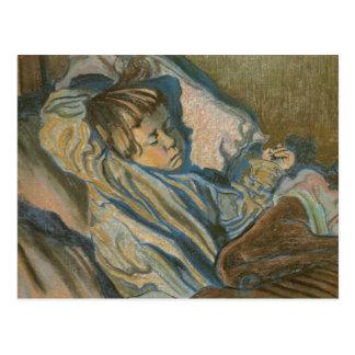Wyspianski, Mietek Sleeping, 1902 Postcards