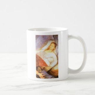 Wyspianski, Mother's Death, 1894 Classic White Coffee Mug