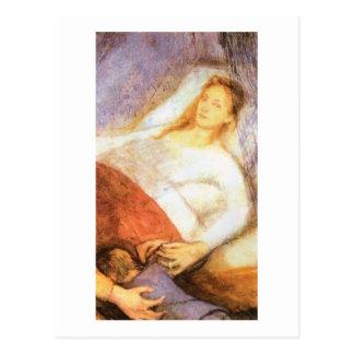 Wyspianski, Mother's Death, 1894 Postcard
