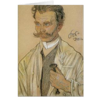 Wyspianski, Portrait of a Doctor, 1904 Stationery Note Card