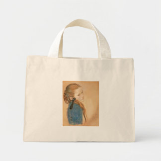 Wyspianski, Portrait of a Girl, 1900 Canvas Bags