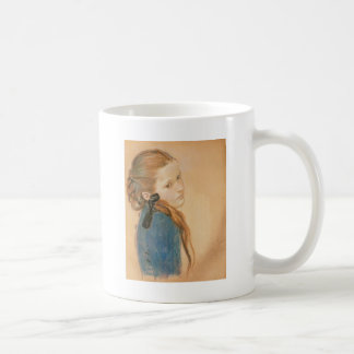 Wyspianski, Portrait of a Girl, 1900 Mugs