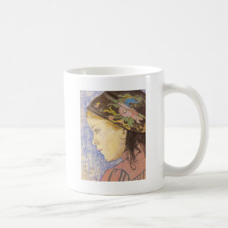 Wyspianski, Portrait of a Girl, 1904 Mugs