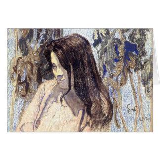 Wyspianski, Portrait of Eliza Parenska, 1902 Note Card