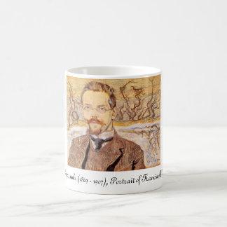 Wyspianski, Portrait of Franciszek Krzysztalowicz Basic White Mug