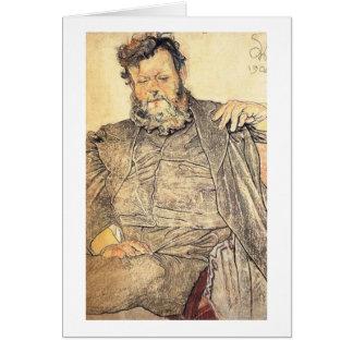 Wyspianski, Portrait of Jan Stanislawski, 1904 Note Card