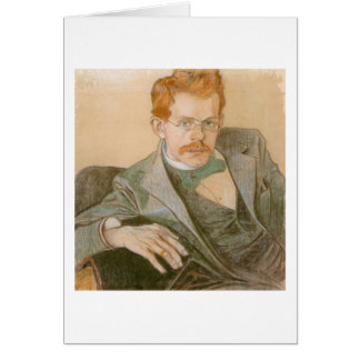 Wyspianski, Portrait of Jozef Mehoffer, 1898 Cards