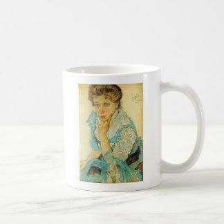 Wyspianski, Portrait of Leonowa Sternbachowa, 1904 Mugs