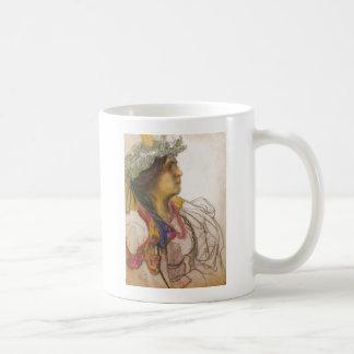 Wyspianski, Portrait of Wanda Siemaszkowa, 1902 Coffee Mugs