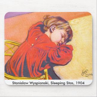 Wyspianski, Sleeping Stas, 1904 Mousepads