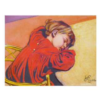 Wyspianski, Sleeping Stas, 1904 Posters