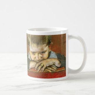 Wyspianski, Study of a Child - Mietek, 1904 Basic White Mug
