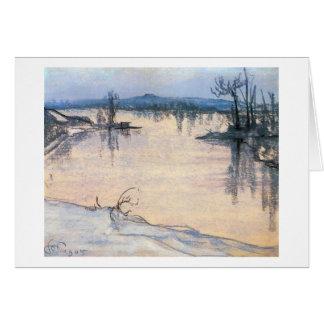 Wyspianski, The Vistula near Cracow, 1905 Note Card