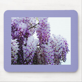 Wysteria Mouse Pad
