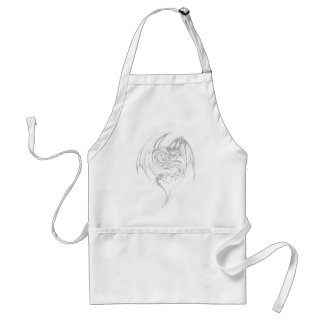 Wyvern Dragon Are Fantasy Mythical Creatures Standard Apron