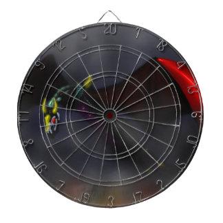 Wyvern Flight (colour) Dartboard