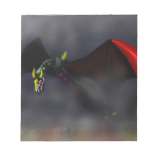 Wyvern Flight (colour) Notepad