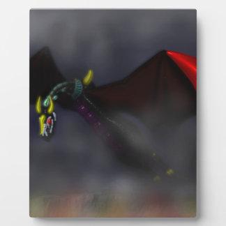 Wyvern Flight (colour) Plaque