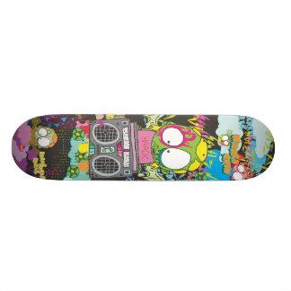 WZRD HAACK Deck 21.3 Cm Mini Skateboard Deck
