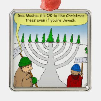 x04 You can enjoy Christmas even if you are Jewish Christmas Ornament