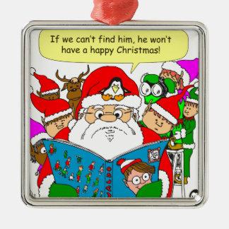 x41 wheres waldo cartoon christmas ornament