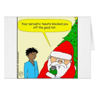 x75 sarcastic tweets cartoon card