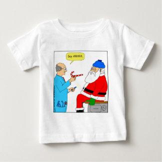 x85 Santa say ahhh Cartoon T Shirts
